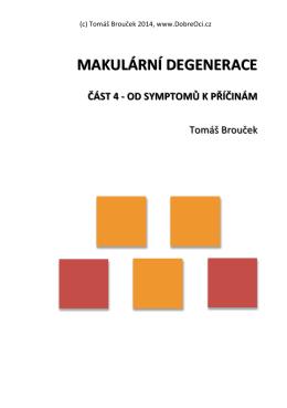 makulární degenerace