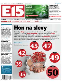 hon na slevy - czech news invest
