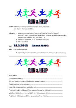 run and help
