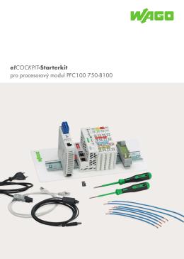 e!COCKPIT-Starterkit pro procesorový modul PFC100 750