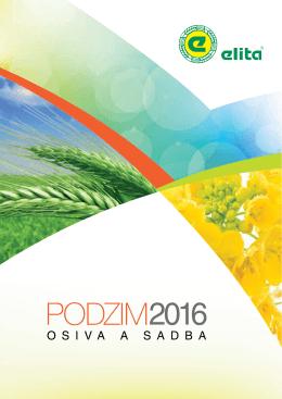 Katalog podzim 2016 - ELITA semenářská, as