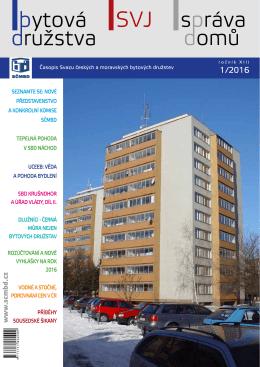 SVJ správa domů - Svaz českých a moravských bytových družstev