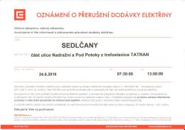 SEDLCANY