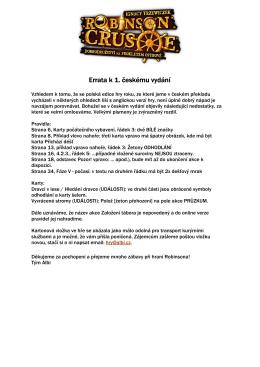 ERRATA - seznam oprav PDF dokument