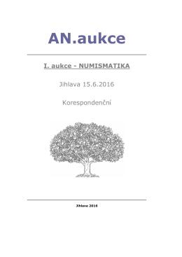 AN.aukce - numismatika.cz