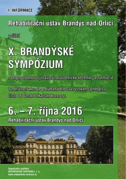 X.brandyske sympozium