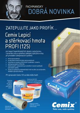 Cemix Lepicí a stěrkovací hmota PROFI (125)
