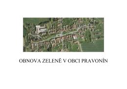Obnova zeleně v obci Pravonín - Příloha č. 3