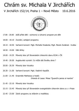 Chrám sv. Michala V Jirchářích