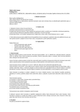 Úplné znění stanov Bulldogs Brno podle zákona č. 98/2012 Sb