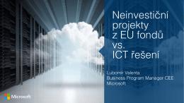 Města a Národní strategie Cloud Computingu