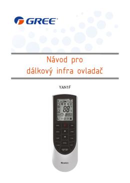 Návod pro dálkový infra ovladač