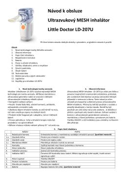 Návod LD-207U