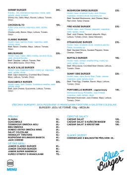 menu blue burger bar