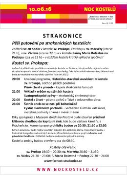 sv. Prokopa - Farnost Strakonice