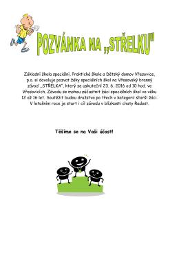 Pozvánka na - Škola Vřesovice