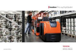 Pro vychystávání - Toyota Material Handling CZ s.r.o.