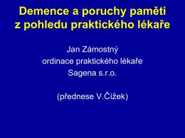 Demence - AKTUÁLNĚ