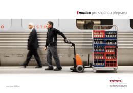pro snadnou přepravu - Toyota Material Handling CZ s.r.o.