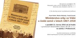Pozvánka  - Masarykův ústav a Archiv AV ČR, v. v. i.