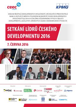 setkání lídrů českého developmentu 2016