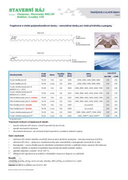 Ceny jsou uvedeny v Kč/m² exv sklad dodavatele.