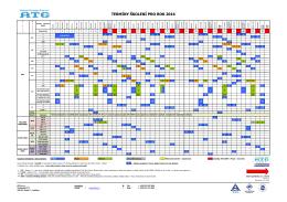 Kalendář kurzů 2016