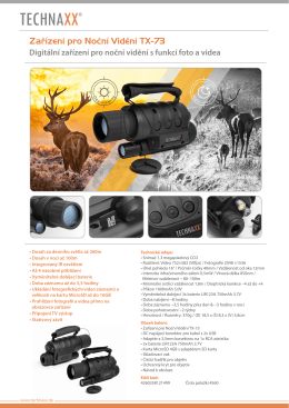 Digital night Vision TX-73 CZ