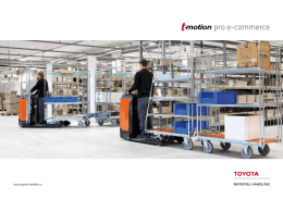 pro e-commerce - Toyota Material Handling CZ s.r.o.