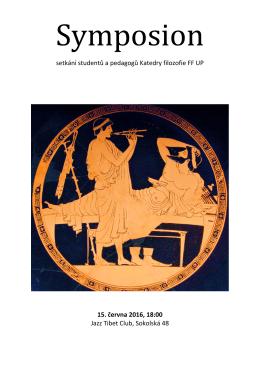 setkání studentů a pedagogů Katedry filozofie FF UP 15. června