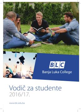 Vodic 2016/17.indd - Banja Luka College
