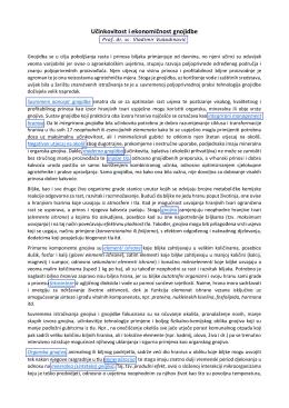 Učinkovitost i ekonomičnost gnojidbe