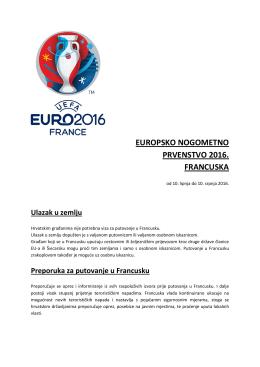 europsko nogometno prvenstvo 2016. francuska