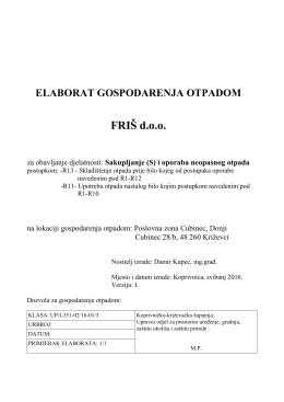 EGO FRIS neopasni 2016 - Koprivničko
