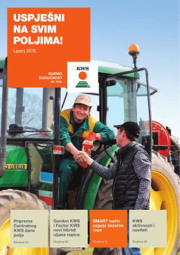 KWS časopis - Uspješni na svim poljima - Lipanj