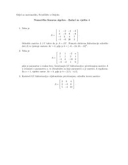 Zadaci za vježbu 4 - Odjel za matematiku