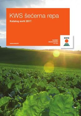 KWS katalog šećerne repe 2017