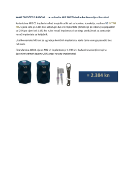 preuzmi - MIS Implants Croatia
