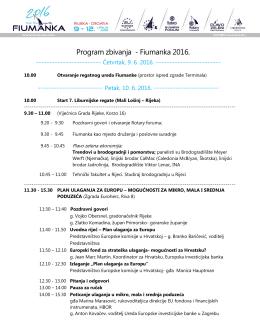 Program konferencije na hrvatskom jeziku