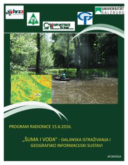 Program radionice - Hrvatski šumarski institut