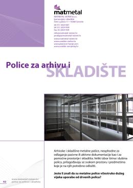 Police za arhivu i skladište
