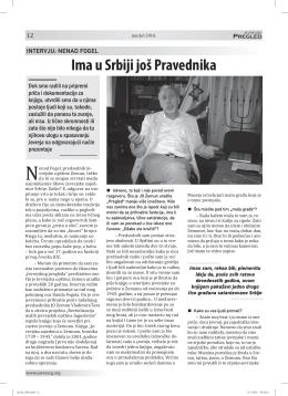 Jevrejskog pregleda za jun/jul 2016.