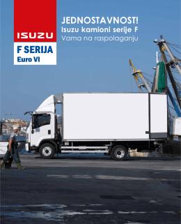 Isuzu F serija - Gradjevinarstvo.rs