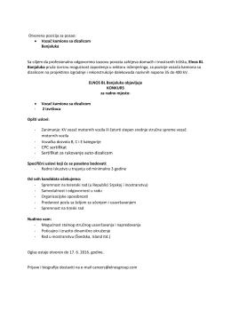 CPC sertifikat - Sertifikat za rukovanje auto-dizalicom
