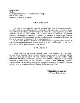 """Luštica Development"" AD Tivat"