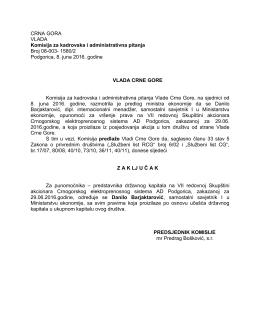 predstavnika državnog kapitala na VII redovnoj