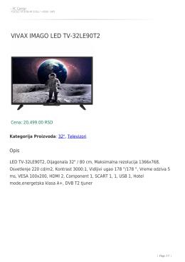 vivax imago led tv-32le90t2