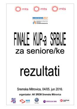 organizator: AK SREM Sremska Mitrovica