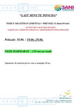 Neos Marmaras 19.06.