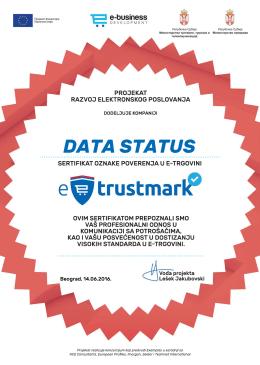 data status - Eposlovanje Srbija